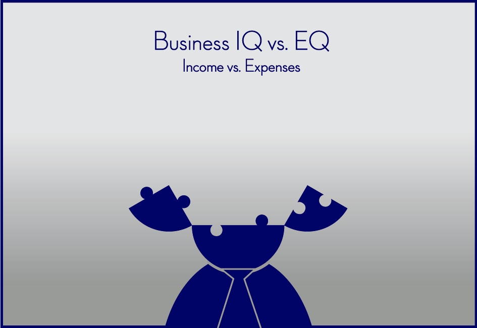 Business IQ vs. EQ - Income vs. Expenses