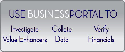Use BusinessPortal-CA to prepare businesses for sale