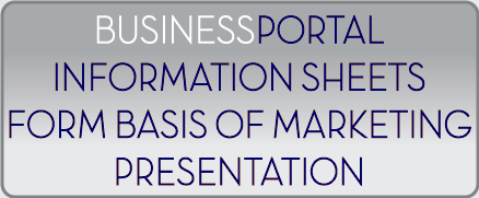 Use BusinessPortal-CA as the basis of the marketing presentations