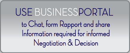 Use BusinessPortal-CA to Chat, form Rapport and share Information